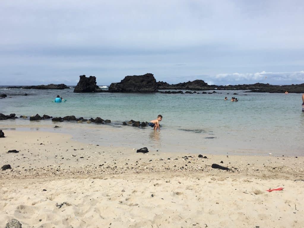 Kukio Beach Keiki Beach Cove