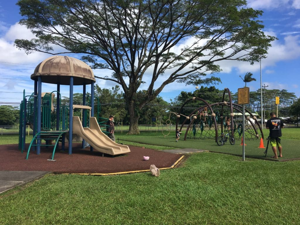 a childrens playground